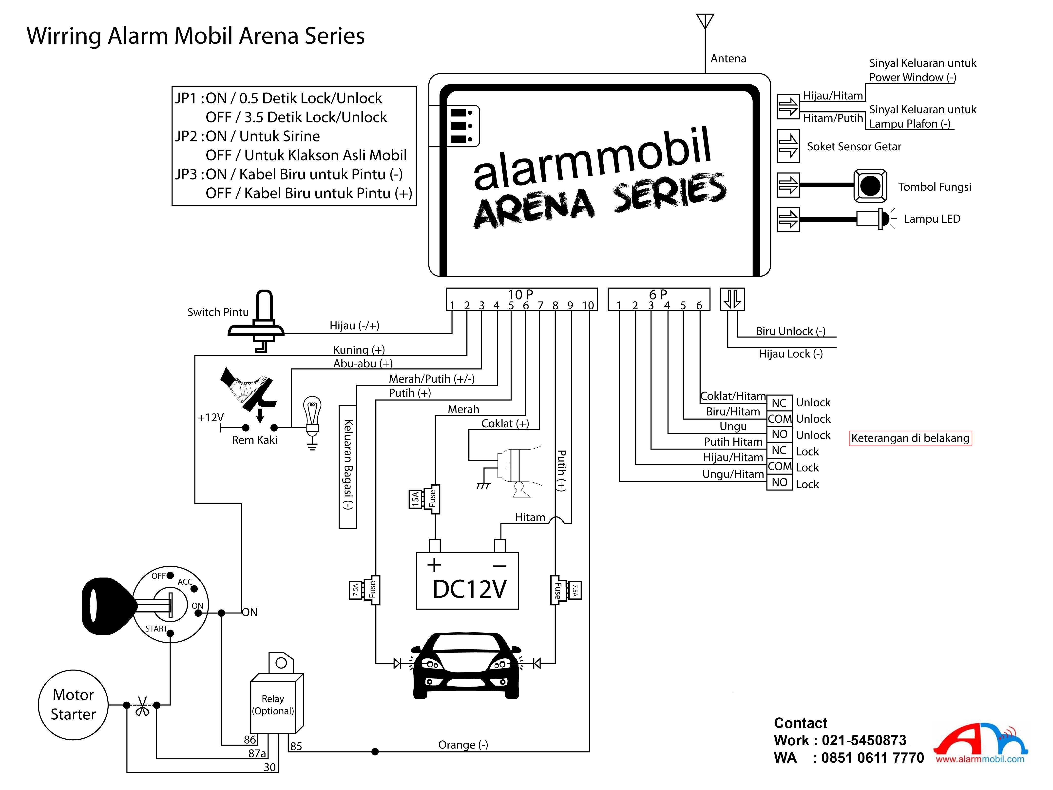 Gambar Wiring Diagram Sistem Pengapian Ac
